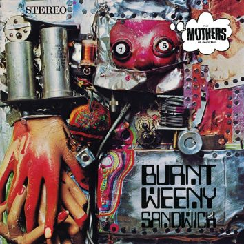 Frank Zappa Burnt Weeny Sandwich Album Cover Web Optimised 820