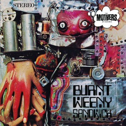 Frank Zappa Burnt Weeny Sandwich Album Cover Web Optimised 820