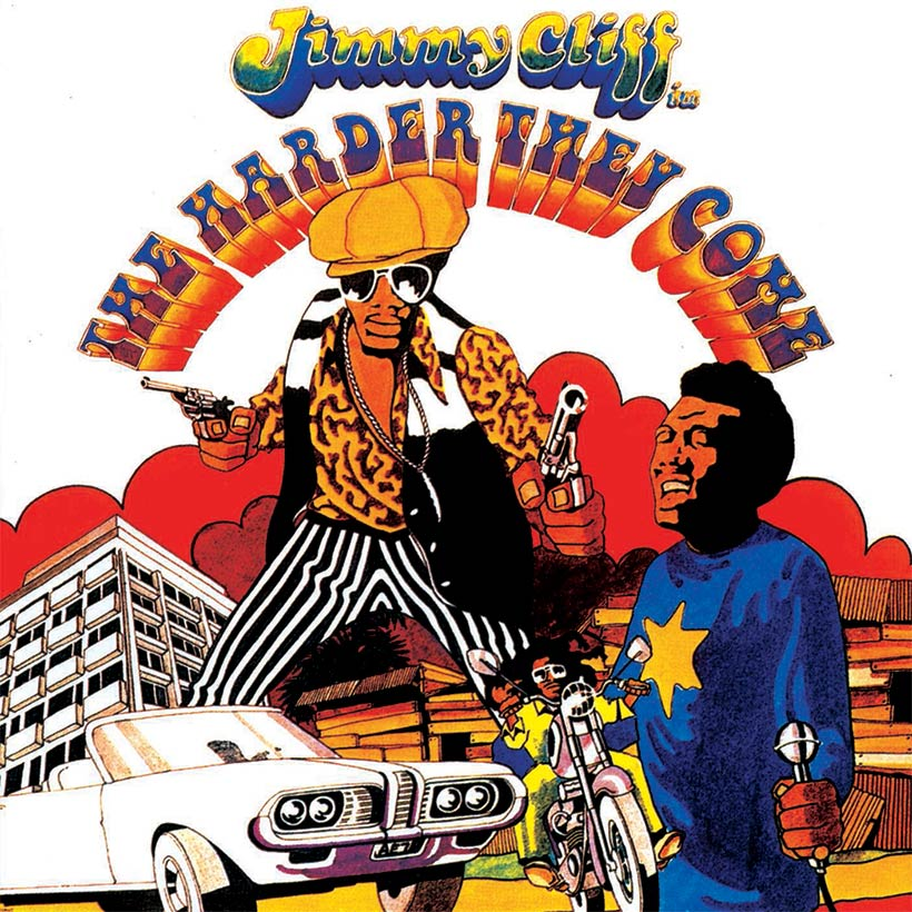 Jimmy Cliff The Harder They Come Soundtrack album cover web optimsied 820