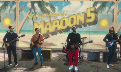 Maroon 5 Three Little Birds