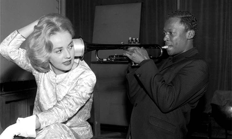 Miles Davis And Jeanne Moreau web optimised 1000 - CREDIT - AGIP Bridgeman Images