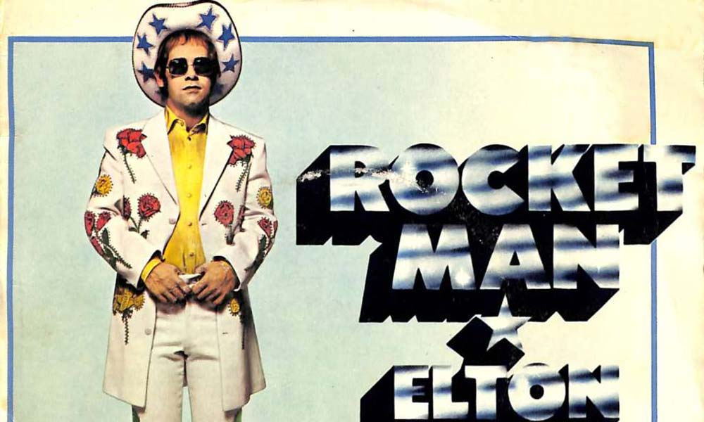 Rocket Man 1972 sleeve Elton John