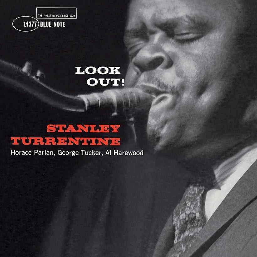 Stanley Turrentine Look Out Album Cover web optimised 820