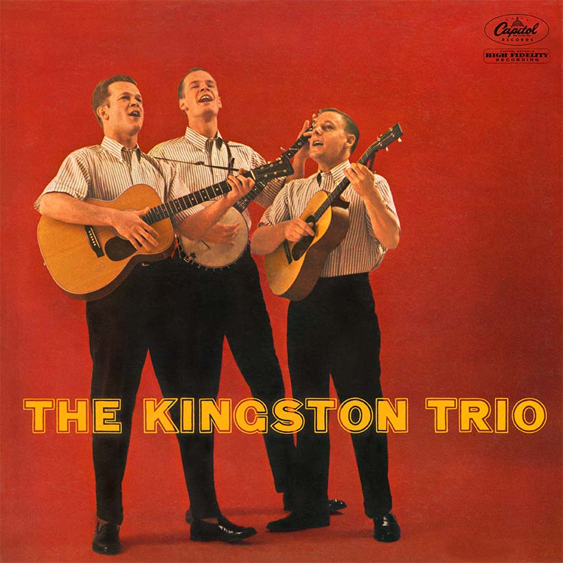 The Kingston Trio self-titled debut album artwork web optimised 820