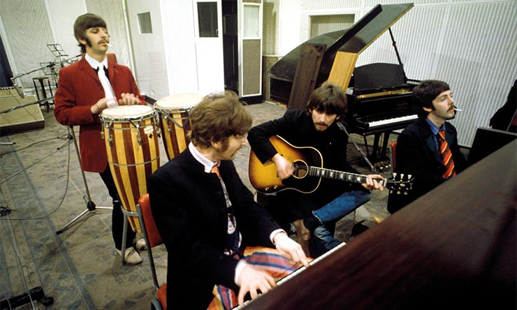 The Beatles Recording Sgt. Pepper's Lonely Hearts Club Band
