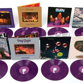 Deep Purple 180g purple vinyl