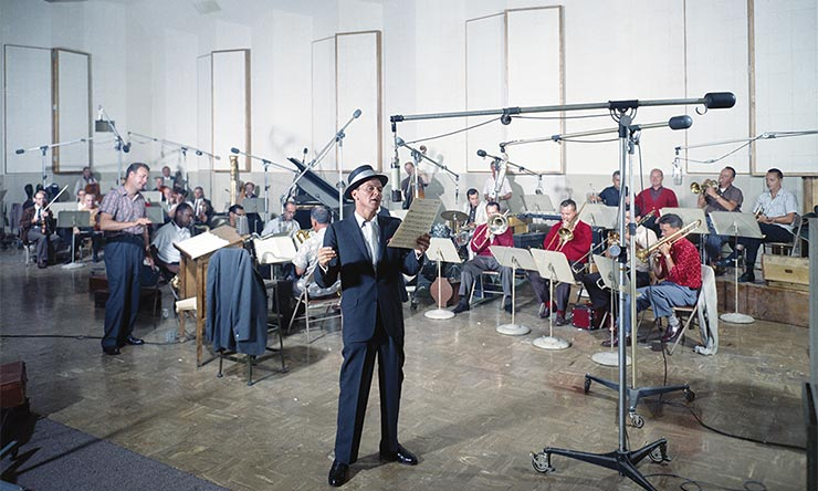Frank Sinatra At Capitol Studios