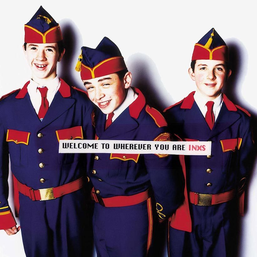 INXS Welcome To Wherever You Are album cover web optimised 820