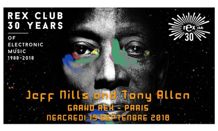 Jeff Mills Tony Allen Rex Club