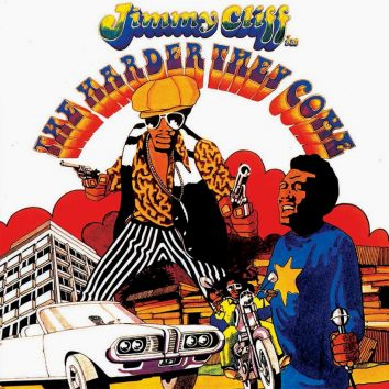 Jimmy Cliff The Harder They Come album cover
