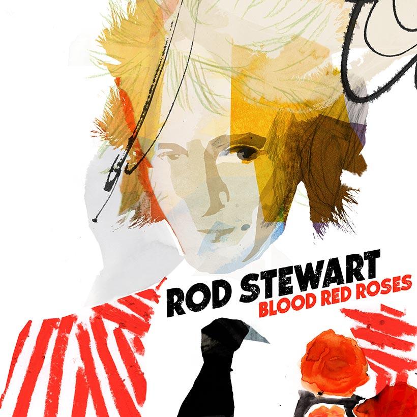 Image result for rod stewart blood red roses