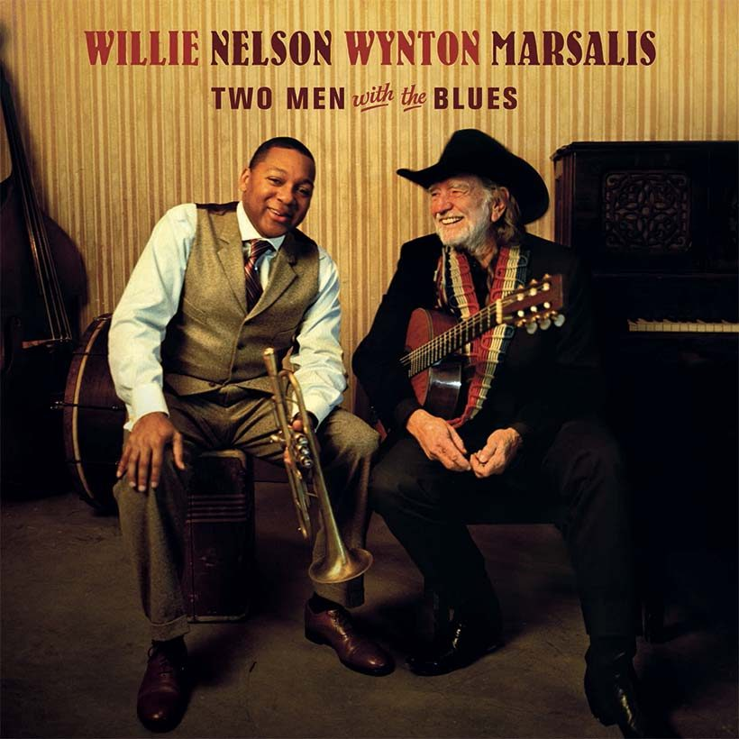 Willie Nelson and Wynton Marsalis Two Men With The Blues Album Cover web optimised 820