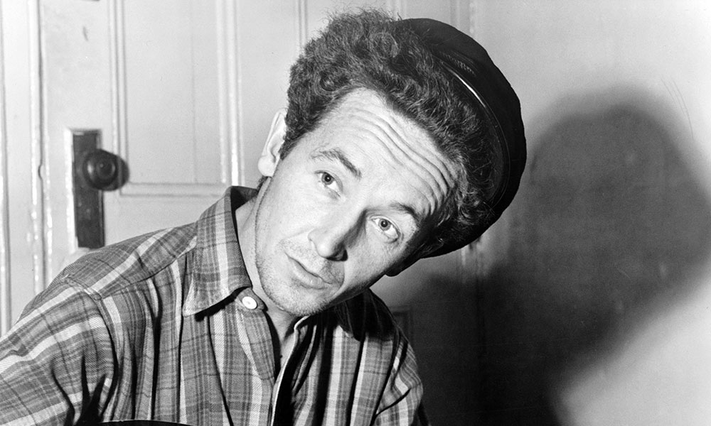 Woody Guthrie photo by Library of Congress and Getty Images