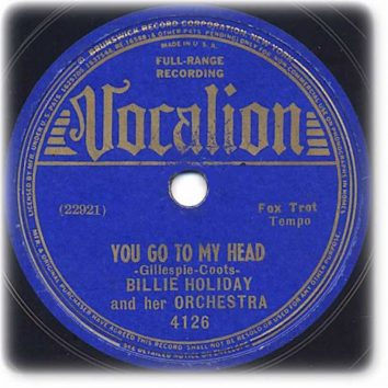 You Go To My Head Billie Holiday