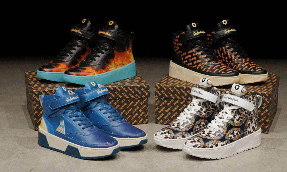 Def Leppard Release Range Of Limited Edition Sneakers 12f9c0a09