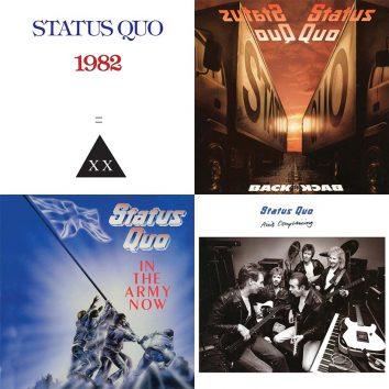 Status Quo 1980s albums montage