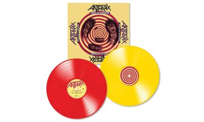 Anthrax State Of Euphoria Reissue