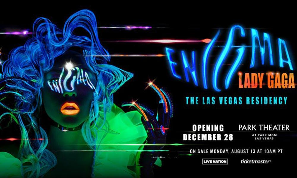 Lady Gaga Enigma Las Vegas