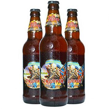 Iron Maiden Trooper Beer Virgin Trains