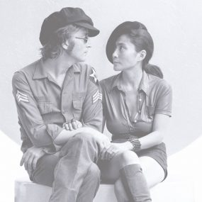 John Lennon and Yoko Ono Imagine Film