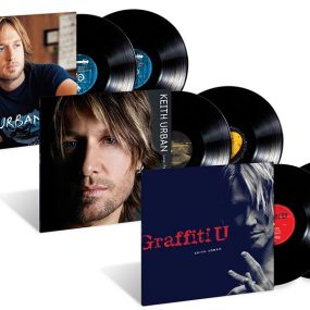 Keith Urban vinyl packshot