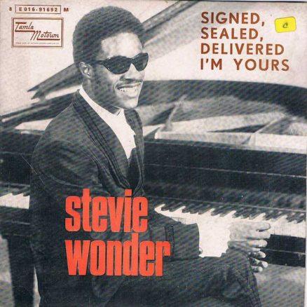 Signed Sealed Delivered Stevie Wonder