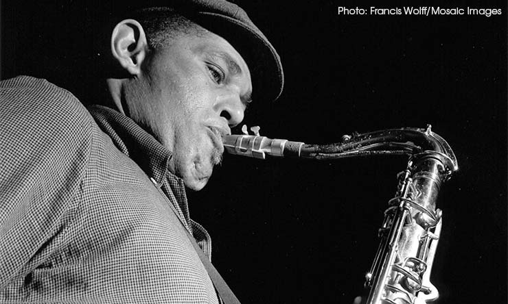 Dexter Gordon Blue Note Photo [02] CREDIT Francis Wolff-Mosaic Images