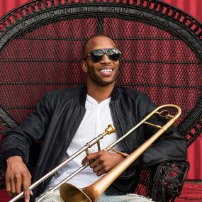 Trombone Shorty 2017 press shot CREDIT Mathieu Bitton