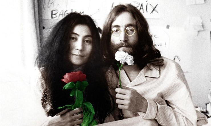John Lennon Yoko Ono Bed-In [01] web optimised 740