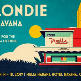 Blondie In Havana Cuba