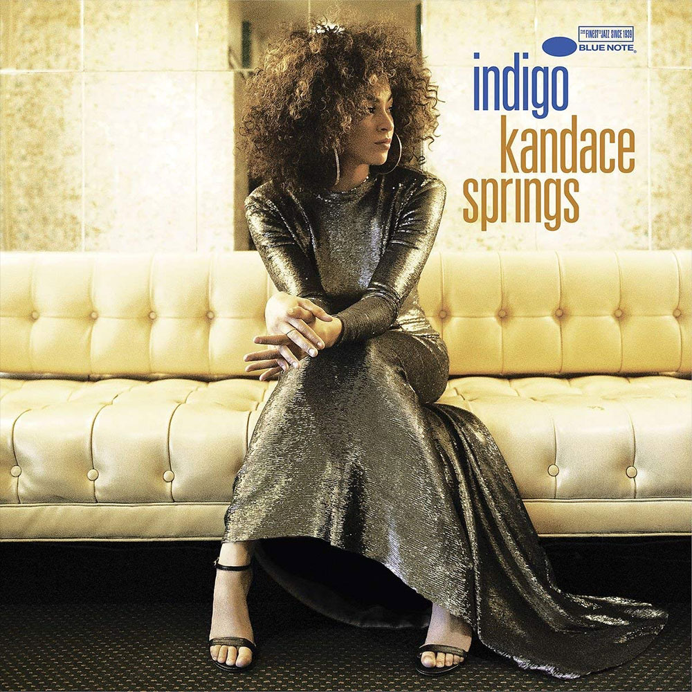 Kandace Springs Indigo Artwork