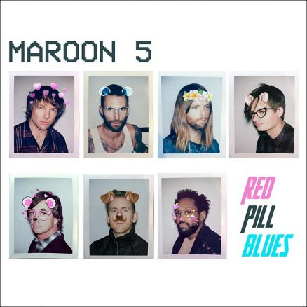 Maroon 5 Red Pill Blues Album cover web optimised 820 with border