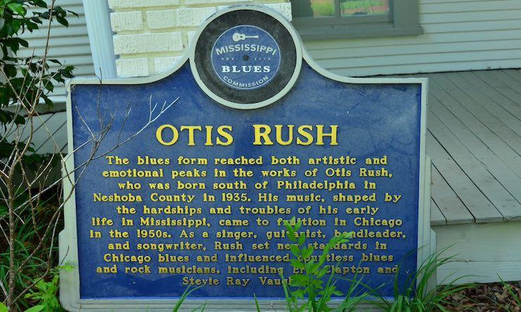 Otis Rush marker