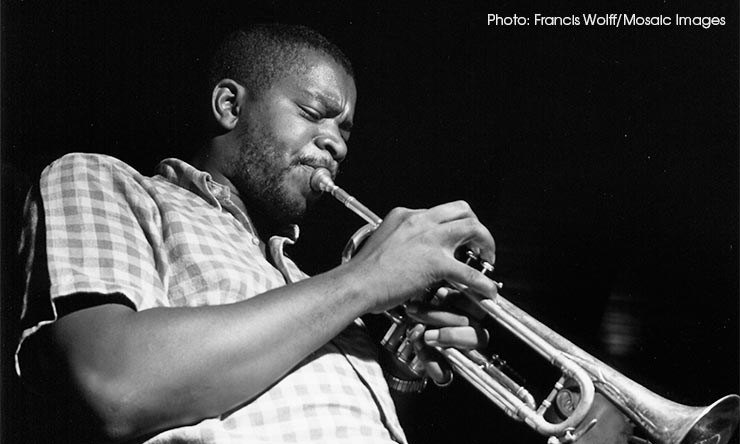 Donald Byrd - CREDIT Francis Wolff-Mosaic Images