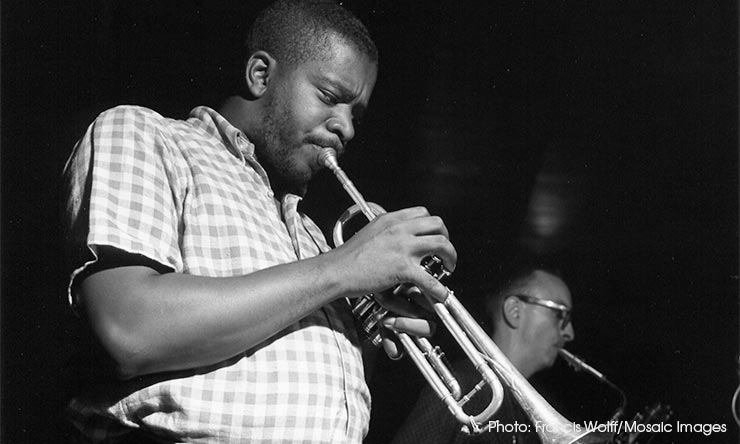 Donald Byrd With Pepper Adams - CREDIT Francis Wolff-Mosaic Images