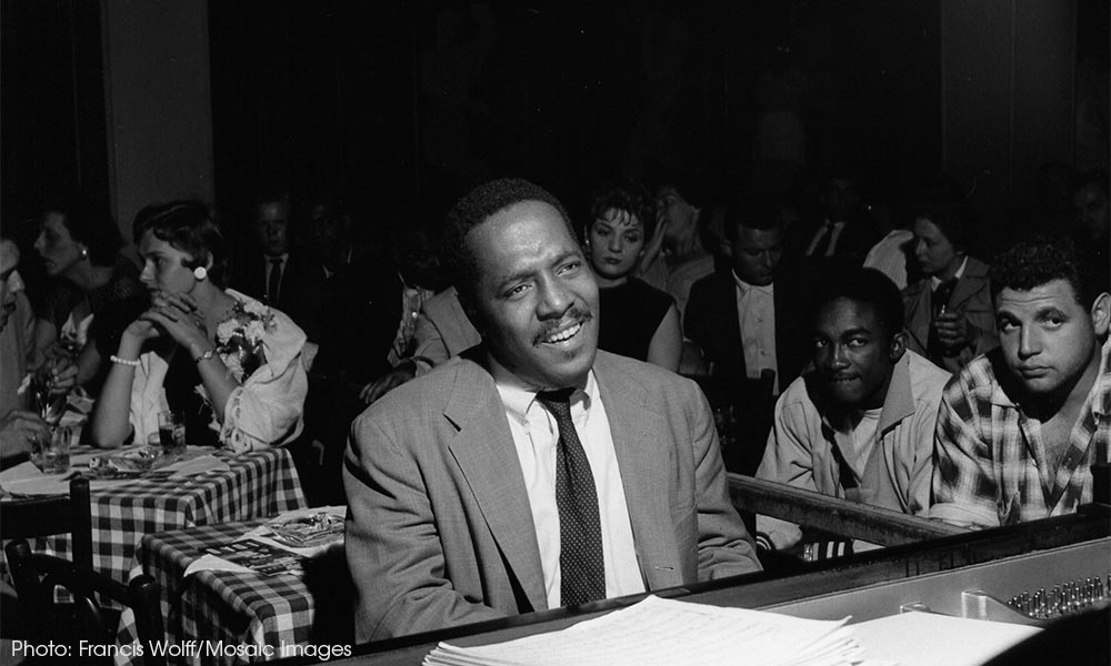Bud Powell Blue Note Photo [02] - CREDIT Francis Wolff-Mosaic Images