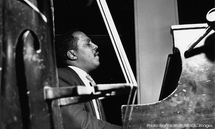 Bud Powell Blue Note Photo - CREDIT Francis Wolff-Mosaic Images