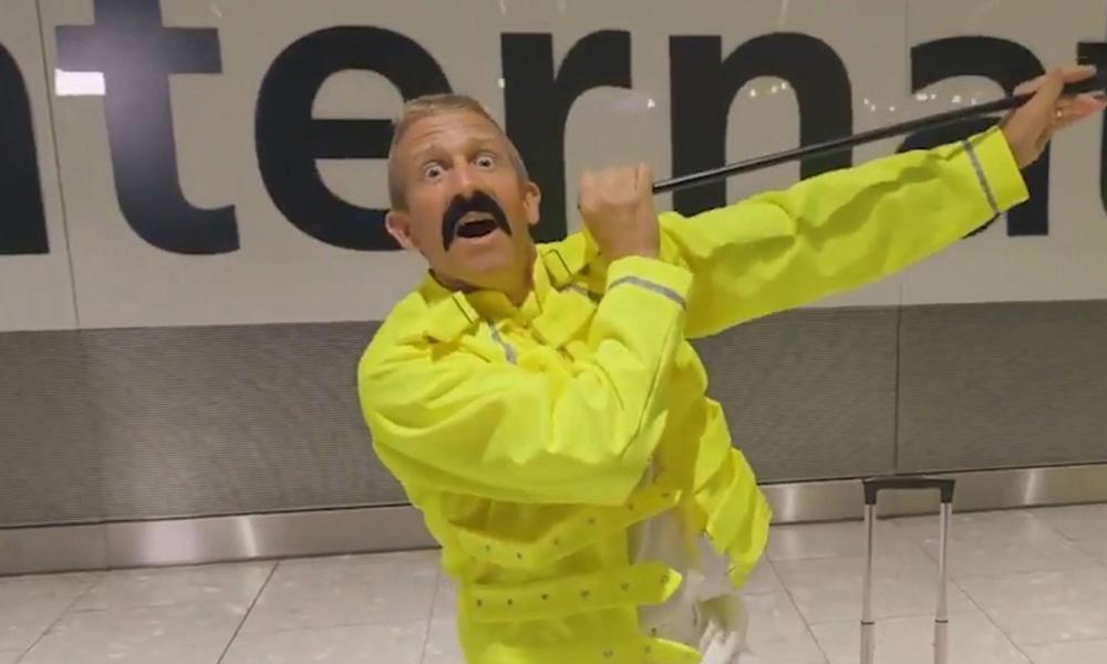 Heathrow Baggage Freddie Mercury