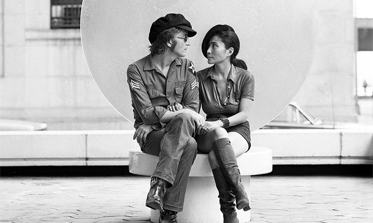 John Lennon and Yoko Ono Imagine press shot web optimised 1000 - CREDIT Iain Macmillan © Yoko Ono web optimised 740