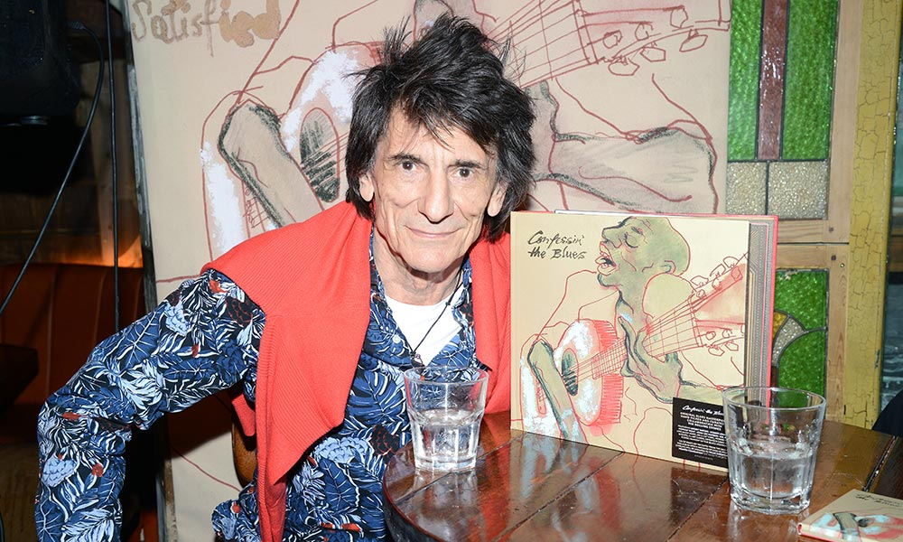 Ronnie Wood Confessin' The Blues Launch Event web optimised 1000 - CREDIT Dave Hogan