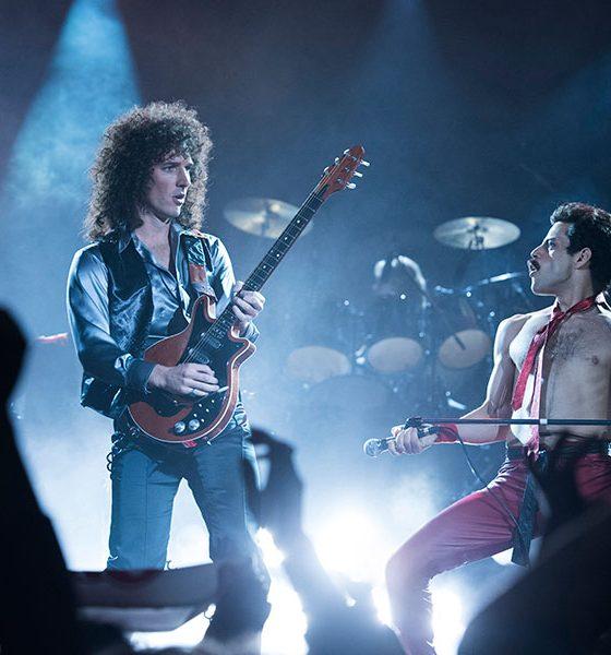 Gwilym Lee as Brian May Rami Malek as Freddie Mercury