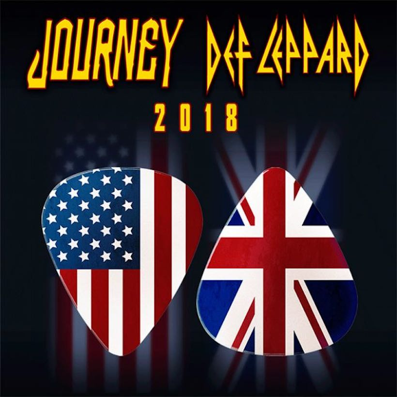 Def Leppard Journey poster