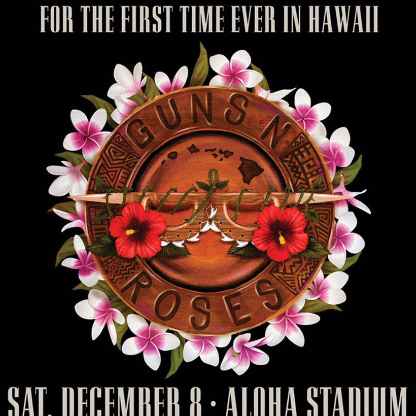 Guns N Roses First Show Hawaii