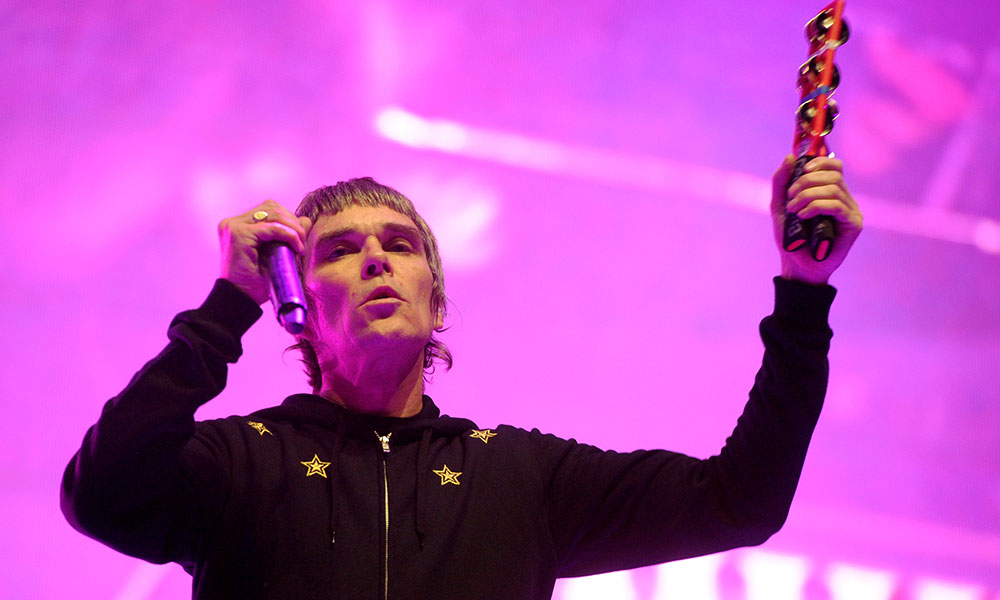 Ian Brown photo by Kevin Winter and Getty Images for Coachella