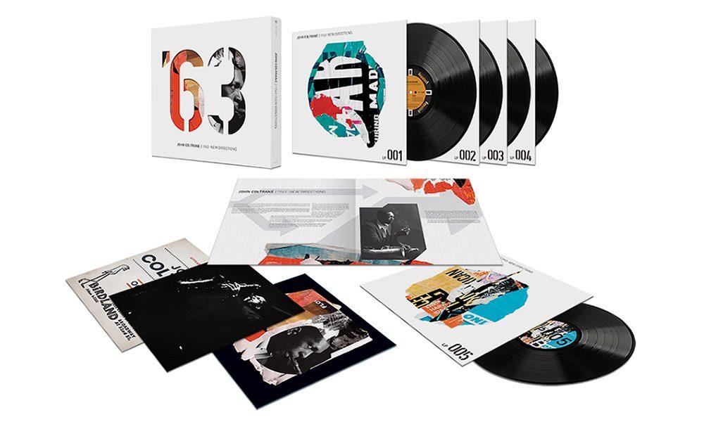 John Coltrane 1963 New Directions packshot