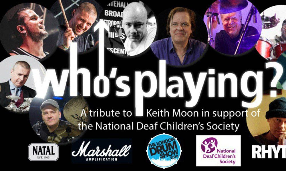 Tribute Keith Moon Deaf Children
