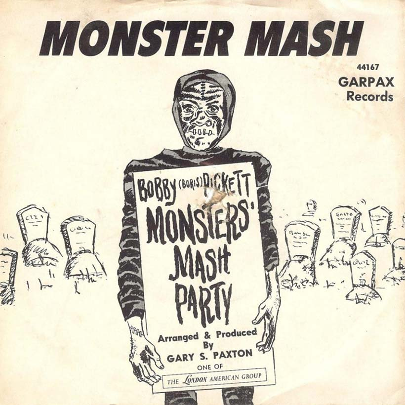 Monster Mash Boris Bobby Pickett single artwork web optimised 820