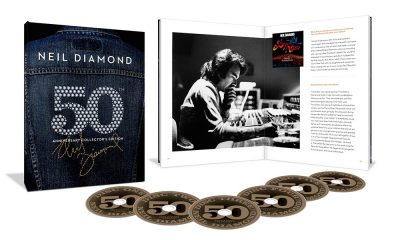 Neil Diamond 50th Anniversary packshot