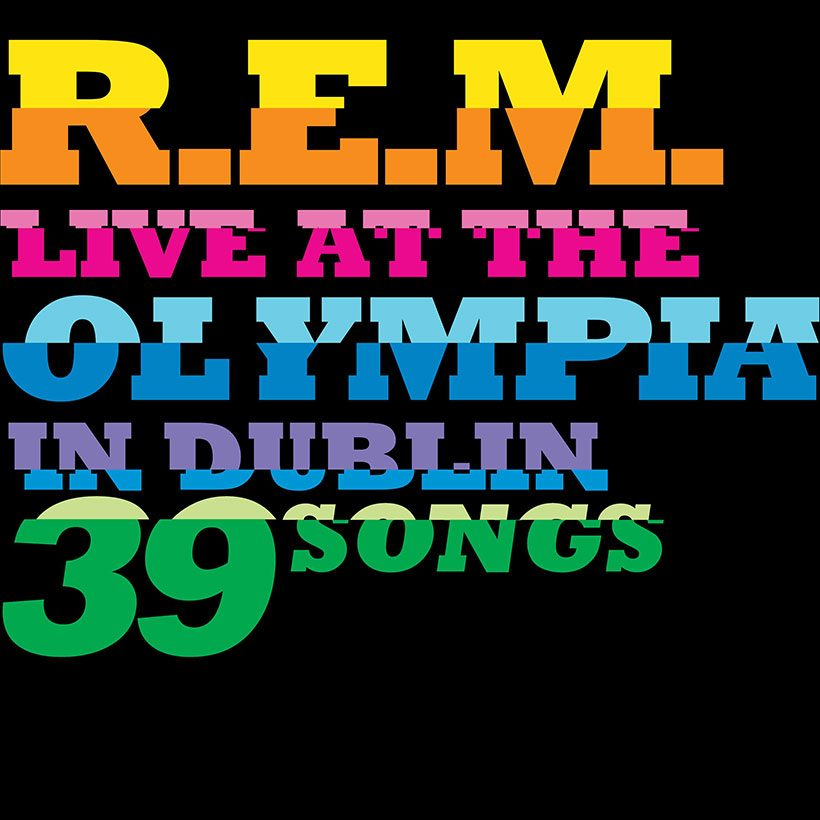 REM Live At The Olympia album cover 820