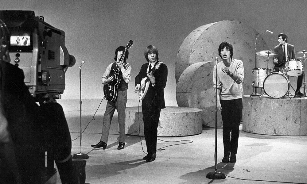 Rolling Stones On Ed Sullivan